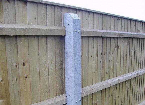 2.4m Recessed Concrete Post