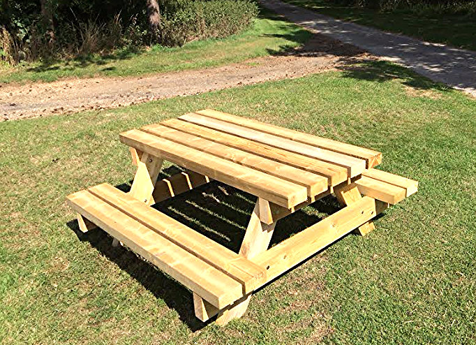 Phenomenal Heavy Duty Picnic Bench Customarchery Wood Chair Design Ideas Customarcherynet