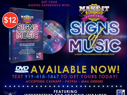 Make It Gospel - Signs Of Music DVD