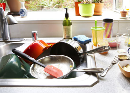 Throwing The Kitchen Sink