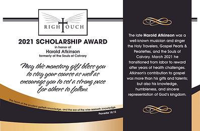 Fran RT Scholarship Award.jpg