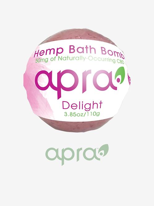 Delight Hemp Bath Bomb, 50mg