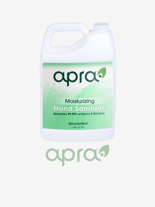 Moisturizing Hand Sanitizer Gel Unscented 70% Ethyl Alcohol Antiseptic - 1 gal.
