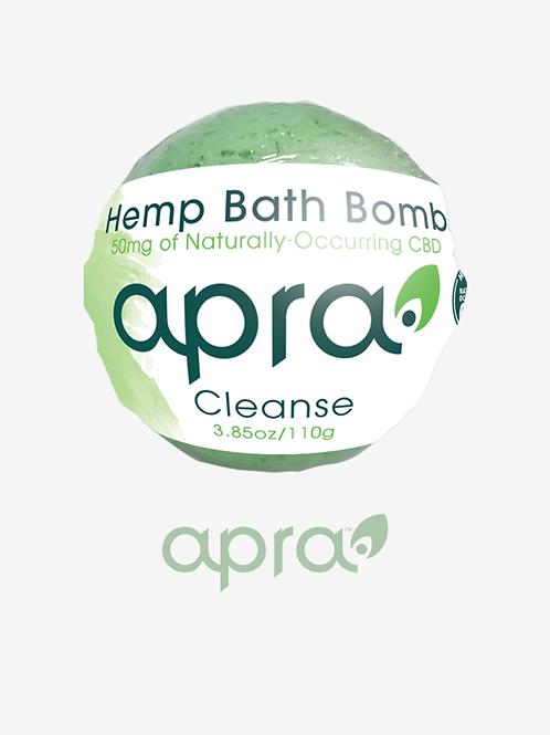 Cleanse Hemp Bath Bomb, 50mg