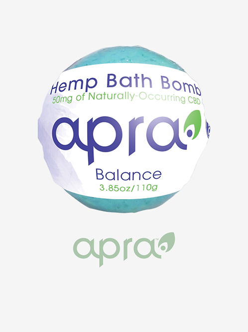 Balance Hemp Bath Bomb, 50mg