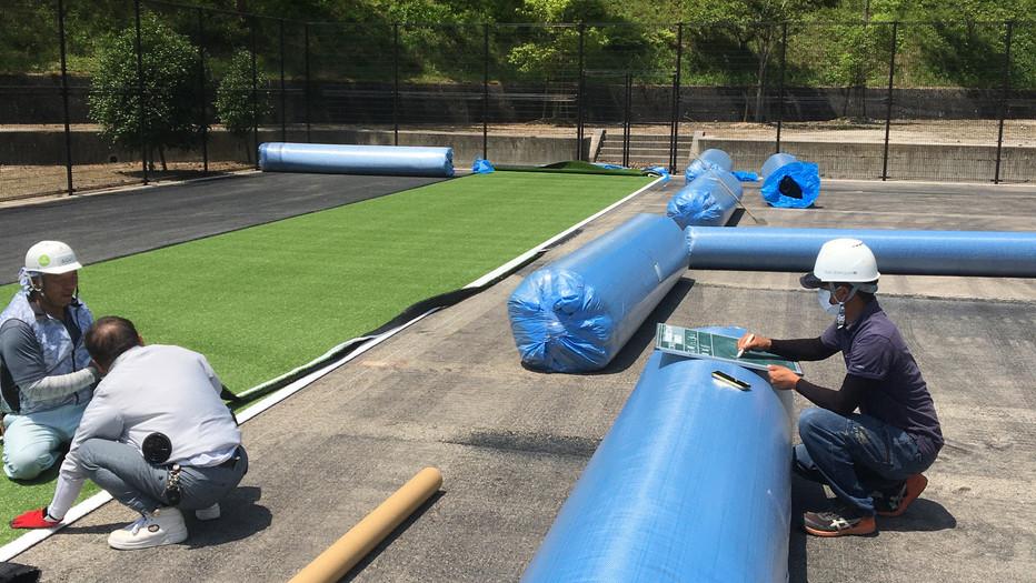 新見市民運動公園テニスコート