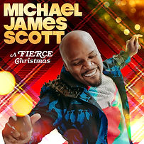 Michael James Scott's A Fierce Christmas Cover Art