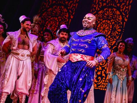Michael James Scott Returns to Broadway's Aladdin