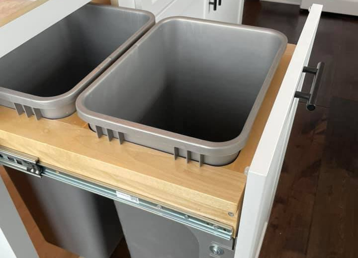 Double Trash Can