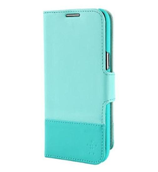 Belkin Wallet Folio For Samsung Galaxy Note 2 In Fountain Blue