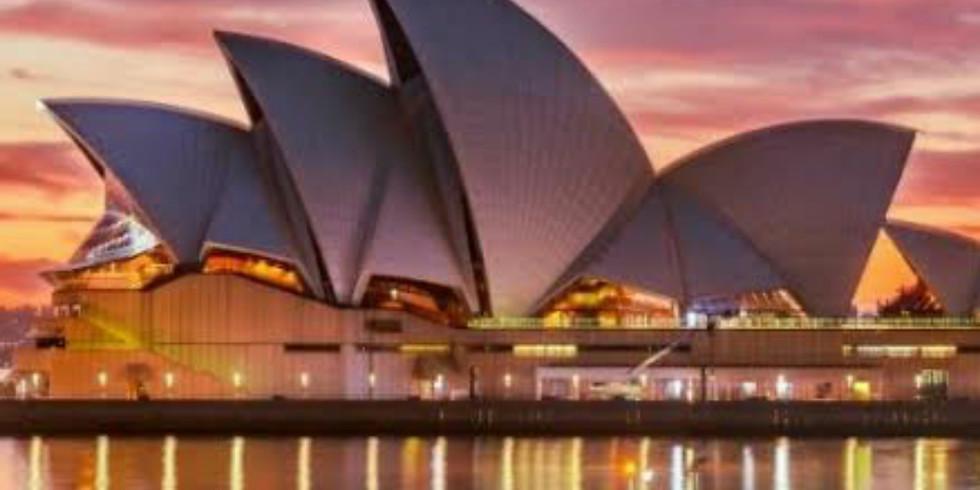 Sydney Tour 16-20 February