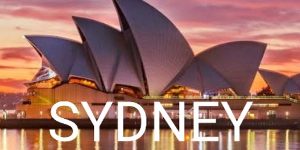 Sydney 4th-7th May