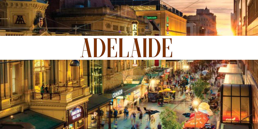 LAST TOUR Adelaide 18th-20th May