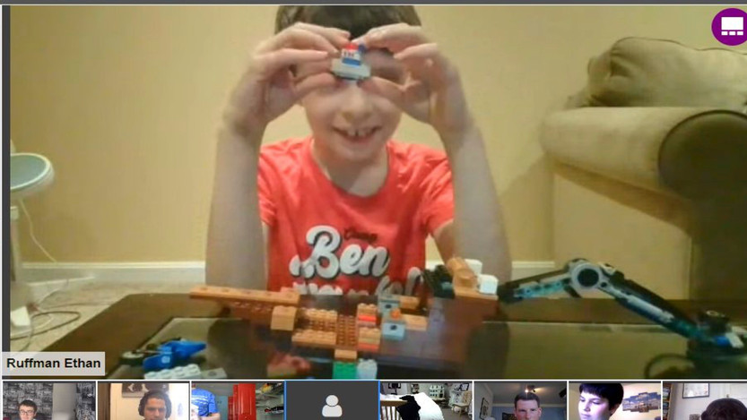 Lego Challenges - Ethan's Creation