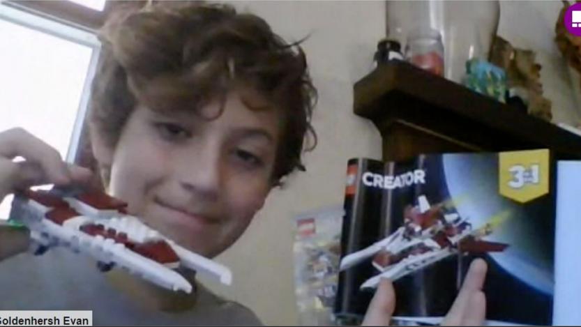 Lego Challenges - Evan's Creation