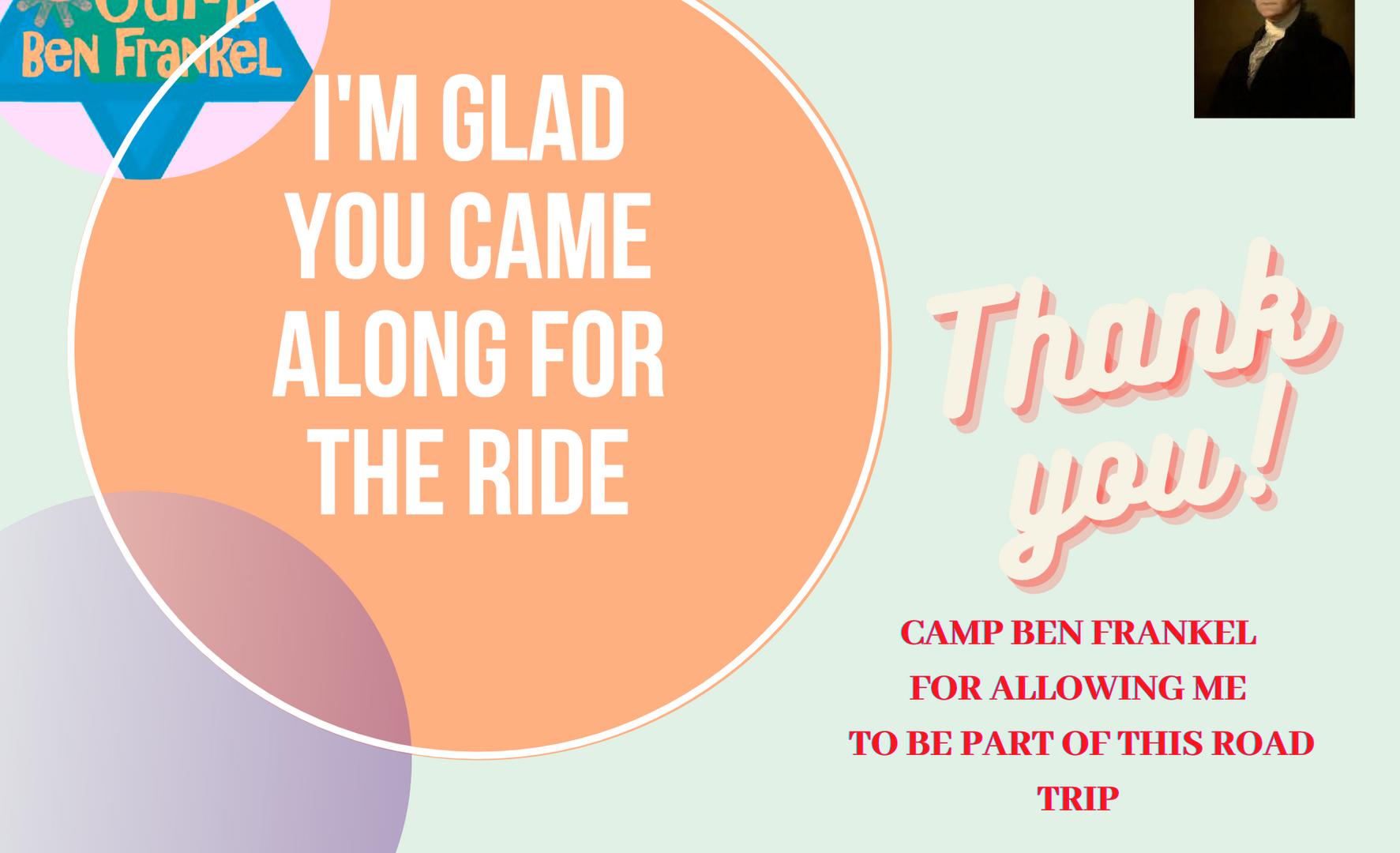 Road Trip - Friend Postcard - Back