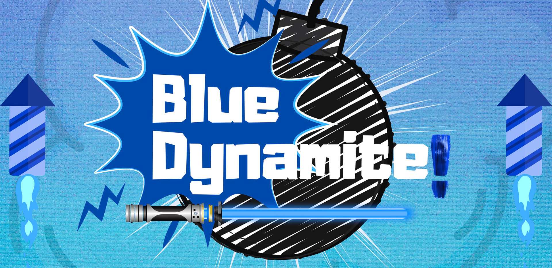 The Blue Dynamite's Logo