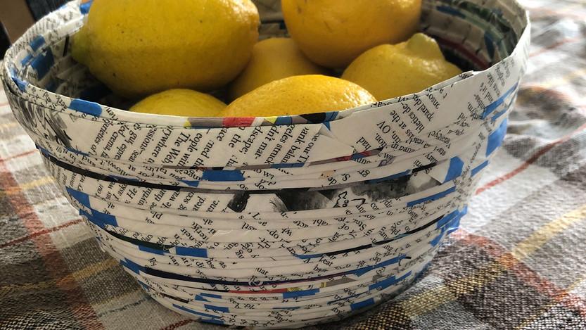 Magazine Art Bowls