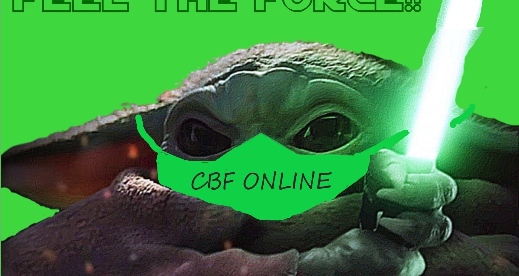 The Green Baby Yoda's Logo