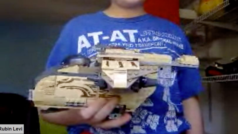 Lego Challenges - Levi's Creation