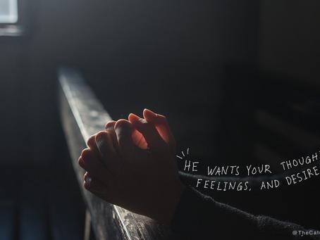 Thoughts, Feelings, Desires
