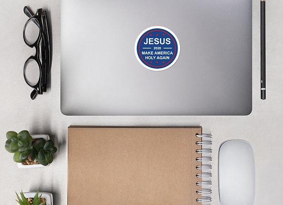 Jesus 2020 Circle Sticker