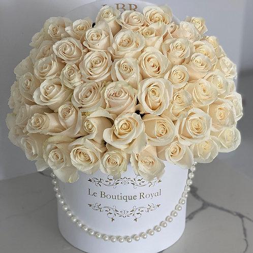 Signature White Rose Box