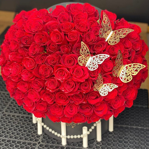 Rêver De Papillons 100 Red