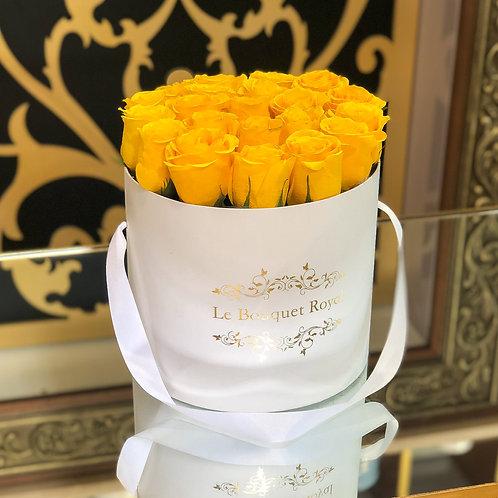 Belle Yellow Rose Box
