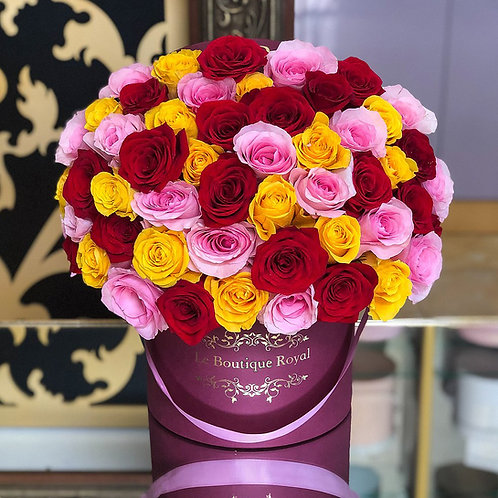 Signature 75 Multicolor Rose Box