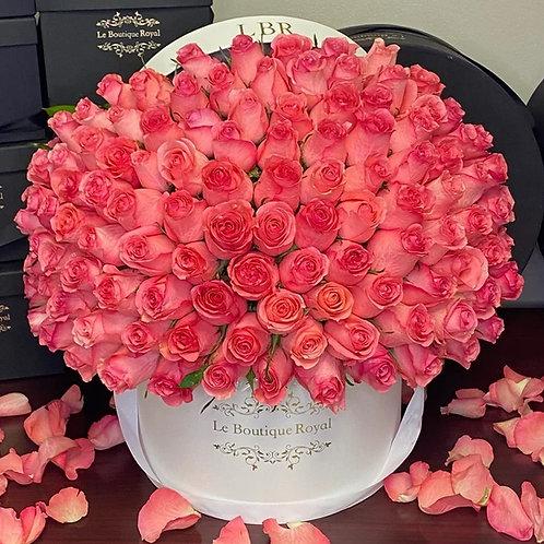 Pretty Pretty 100 Pink Roses