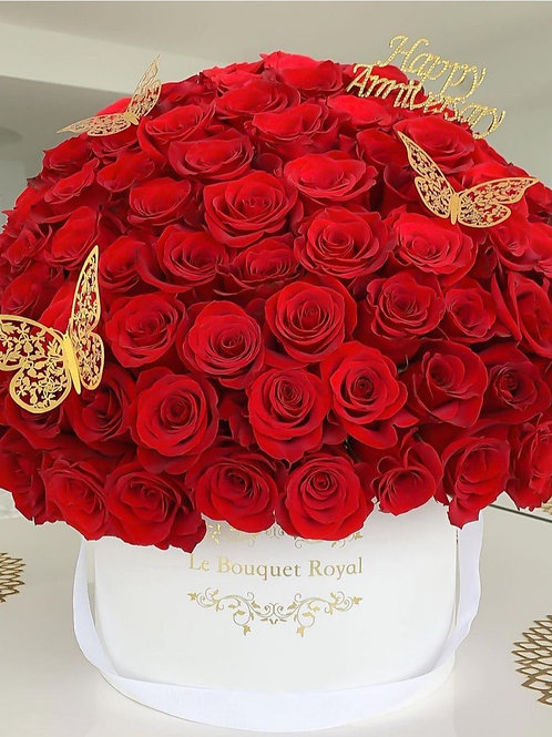 Happy Anniversary 101 Roses