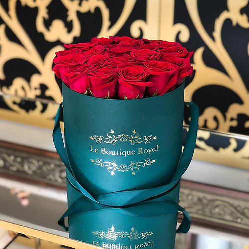 Anna Red & Emerald Rose Box