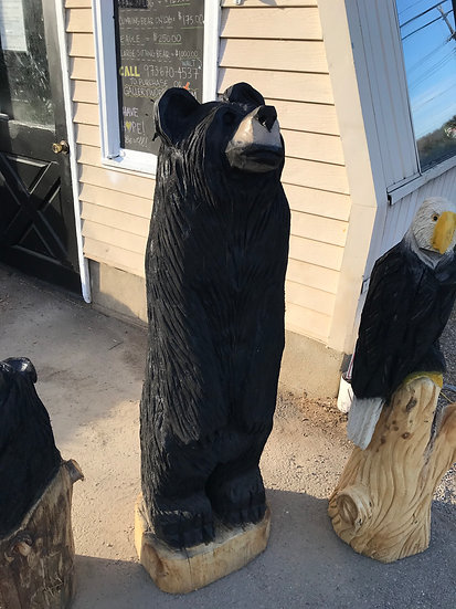 4 1/2 foot tall Medium Bear