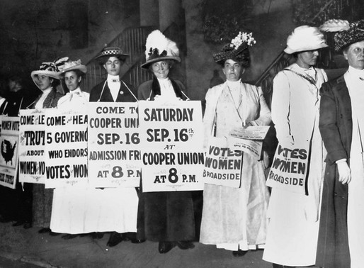 On Women's Equality Day, One Group Asks, 'Where's the Equality?'