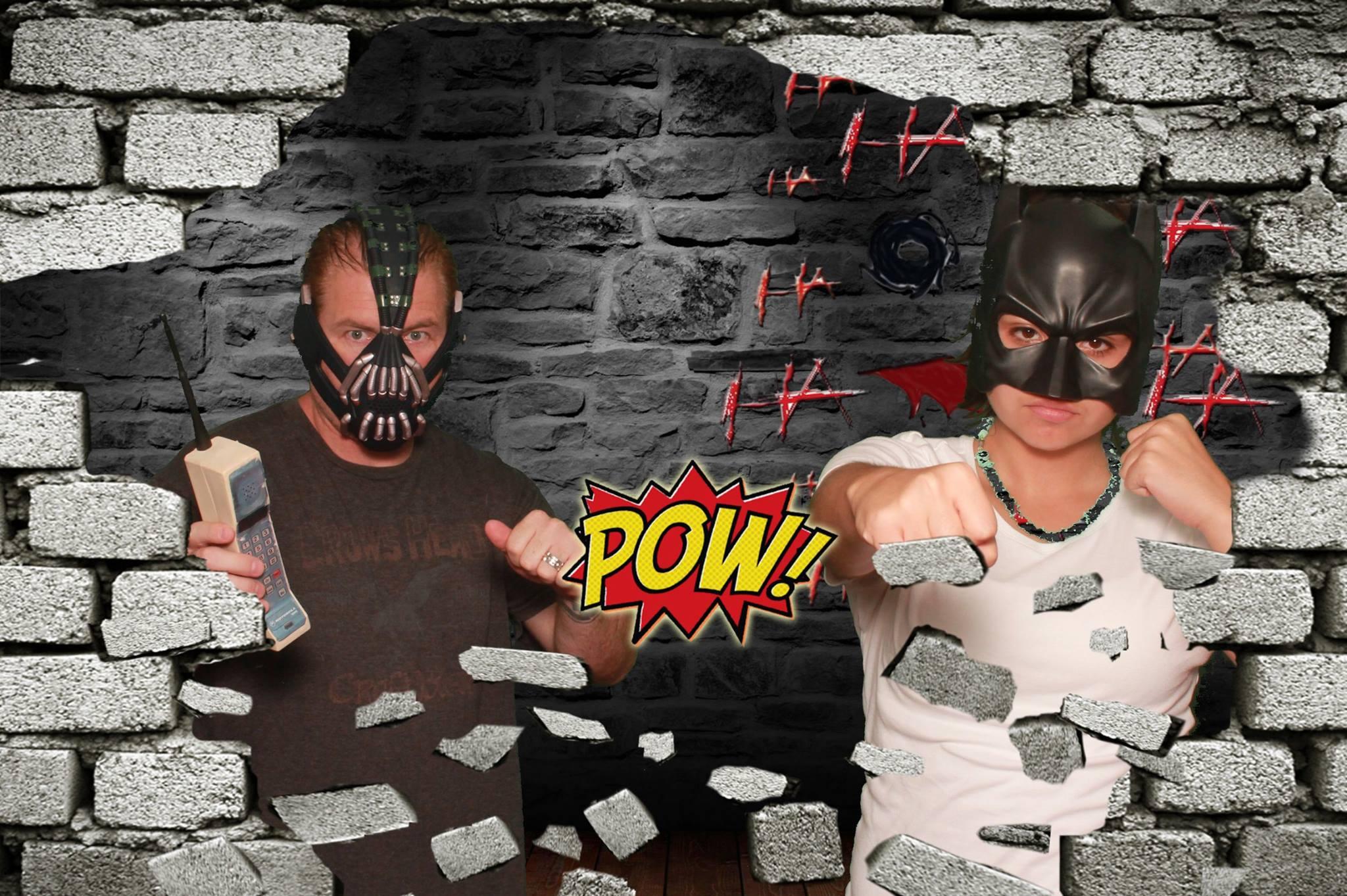 Super heros and Villans unite!