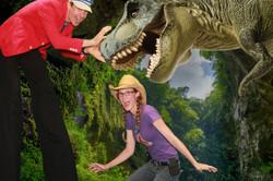 T-rex green screen