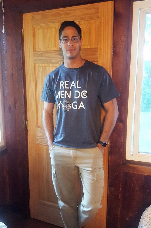 Real Men Do Yoga Tee