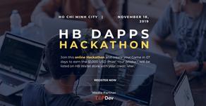 HB DAPPS HACKATHONをベトナムで実施!優勝者は12月8日のイベントで発表!