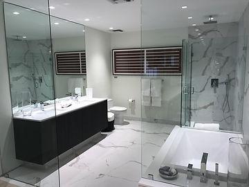 This is the model bathroom for Icon Las Olas.
