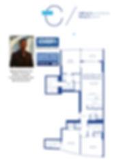 Icon Las Olas C Floor Plan, 500 East Las Olas Blvd, Ft Lauderdale, FL 33301