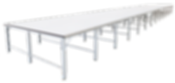 Mable spreading air table
