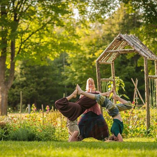 Labyrinth Yoga