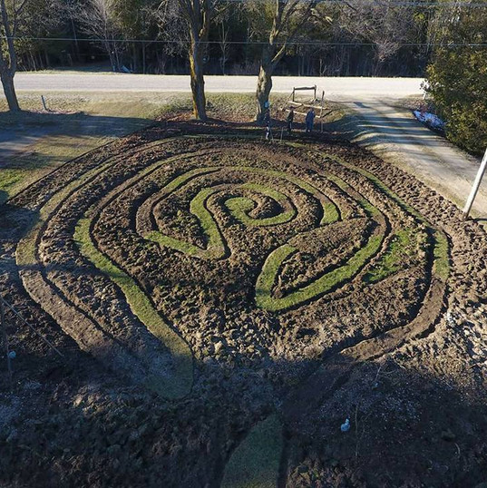 Pre-planted Sarayu Labyrinth