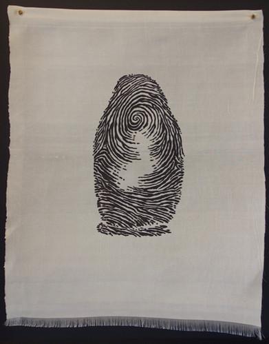 'Lost Identity' (on silk)
