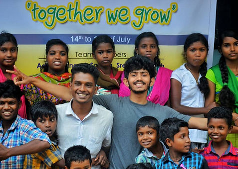 Together we grow program at Yuva Social Movement Project