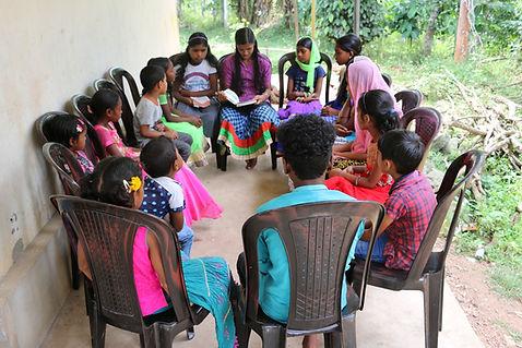 Children at Yuva Social Movement Project