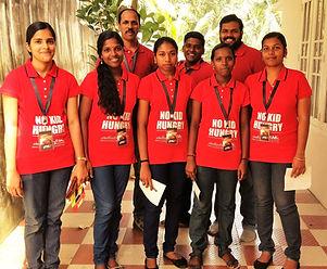 Yuva Social Movement fund raising team
