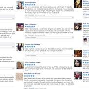 Client testimonials from our prior studio