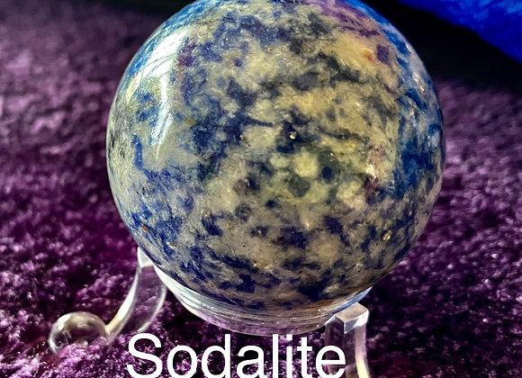 Sodalite Crystal Sphere